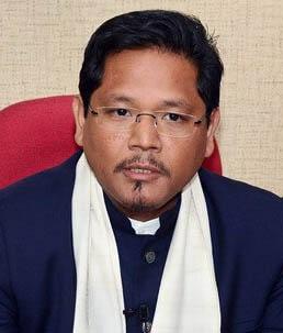 Chief Minister Shri Conrad Kongkal Sangma
